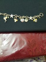 Winter Wonderland Charm Bracelet with 5 Charms! Snowman, Angels, Heart, Stars in Bellaire, Texas