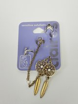 NEW CLAIRE'S SENSITIVE SOLUTIONS EARRING CUFFS AND PIERCED EARRINGS in Glendale Heights, Illinois
