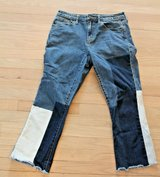 Universal Thread High Rise Kick Boot Crop Jeans, Size 10R in Chicago, Illinois