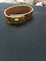 JUICY COUTURE Leopard Print and Gold Tone Bracelet! in Bellaire, Texas