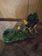 Small Rooster Figurine Water Globe and Tea Light Holder! Cute!! in Bellaire, Texas