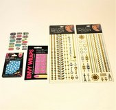 METALLIC JEWELRY TATTOOS AND NAIL ART STICKERS  WRAPS in Glendale Heights, Illinois