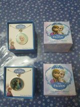 2 Brand New Disney Frozen Boxed Necklace Sets Elsa & Elsa, Olaf, and Anna! in Bellaire, Texas