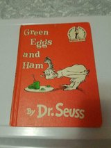 1960 Dr. Seuss Children's Book: GREEN EGGS AND HAM!  Book Club Edition! in Bellaire, Texas