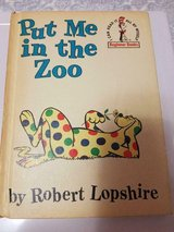 1963 Dr. Seuss Children's Book: PUT ME IN THE ZOO!  Book Club Edition in Bellaire, Texas