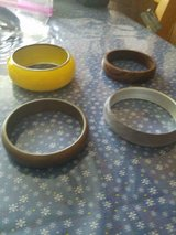 Mixed Lot of 4 Bangle Bracelets!    All in nice condition! in Bellaire, Texas