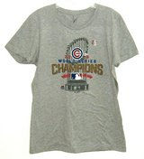 NEW Next Level Chicago Cubs 2016 World Series Champions Tee Top T-Shirt XL in Joliet, Illinois