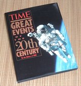 Vintage 1997 Time Life 20th Century Great Events Hard Cover Book Dust Jacket in Joliet, Illinois