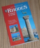 Full Tourist Guide Rhodes Lindos Symi Grand Masters Palace Book in Joliet, Illinois