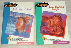 Vintage 1990s Cassie Perkins Book Lot A Forever Friend & Love Burning Bright in Joliet, Illinois