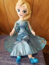 """19"""" Disney Frozen ELSA Plush Doll! Very Nice and Clean Condition! in Bellaire, Texas"""