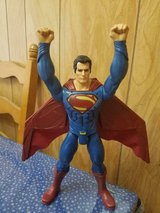 """11"""" Poseable SUPERMAN Action Figure!  Pull Down Back Plug and Cape Opens Up! in Bellaire, Texas"""