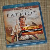 NEW The Patriot Blu-Ray Extended Cut Edition Mel Gibson in Joliet, Illinois