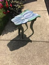CUTE SMALL PLANT / FLOWER TABLE .. GREAT IN SUNROOM OR YARD in Westmont, Illinois