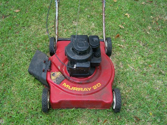 Murray 20 Push Mower : Murray quot push lawnmower lawn garden for sale on
