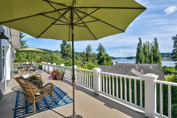 MAGNIFICENT! In Town With Views of Gig Harbor Bay in REmilitary