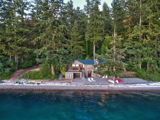 NEAR BREMERTON: 10.99 Acres Hood Canal Waterfront in REmilitary