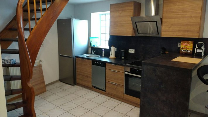 Large 1 bed duplex apartment in Mackenbach in REmilitary