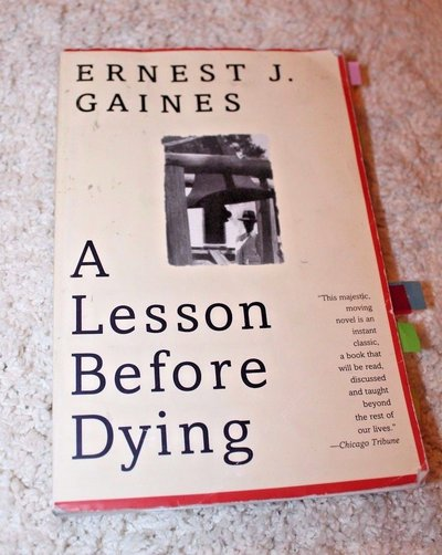 Book before a lesson dying