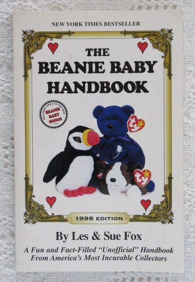 509e61dcfc9 The Beanie Baby Handbook 1998 Edition by Les   Sue Fox Collectors Guide in  Joliet