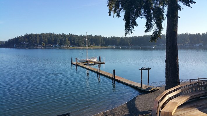 Puget Sound Waterfront With Deep-Water Dock in REmilitary