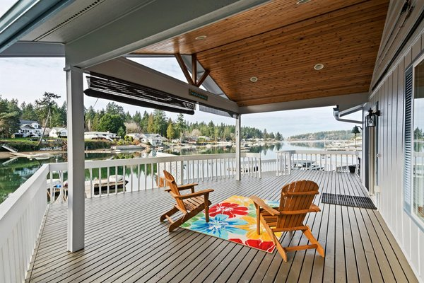 1-Level Waterfront Home With Dock in Gig Harbor in REmilitary