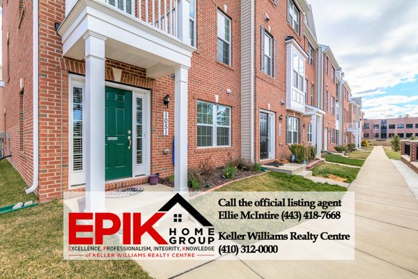 Fabulous townhome close to Ft. Meade in REmilitary