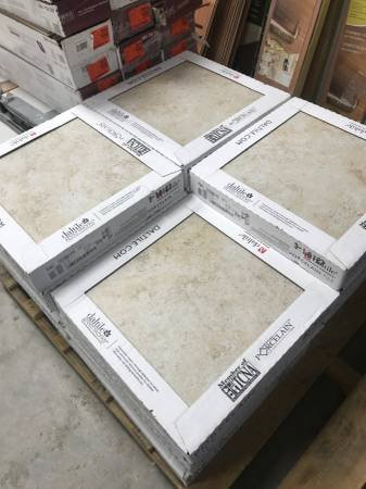Daltile Forest Hills Crema 18 Inch Floor And Wall Tile 342 Square Feet In Joliet