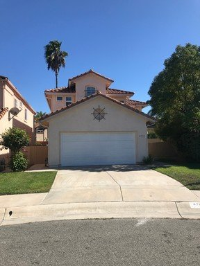 Large Home on Cul De Sac in Rancho Del Orolose in REmilitary