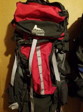 Gregory Pallisade 80 Pack Red Fitness Sports For Sale On Aurora Bookoo