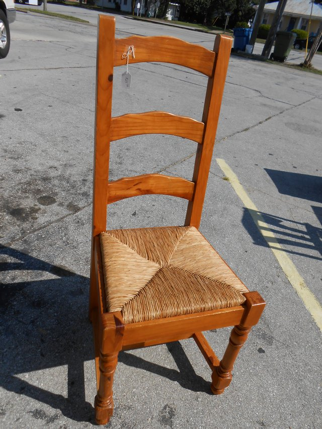 Pine chair furniture for sale on cherry point yard sales for Furniture yard sale
