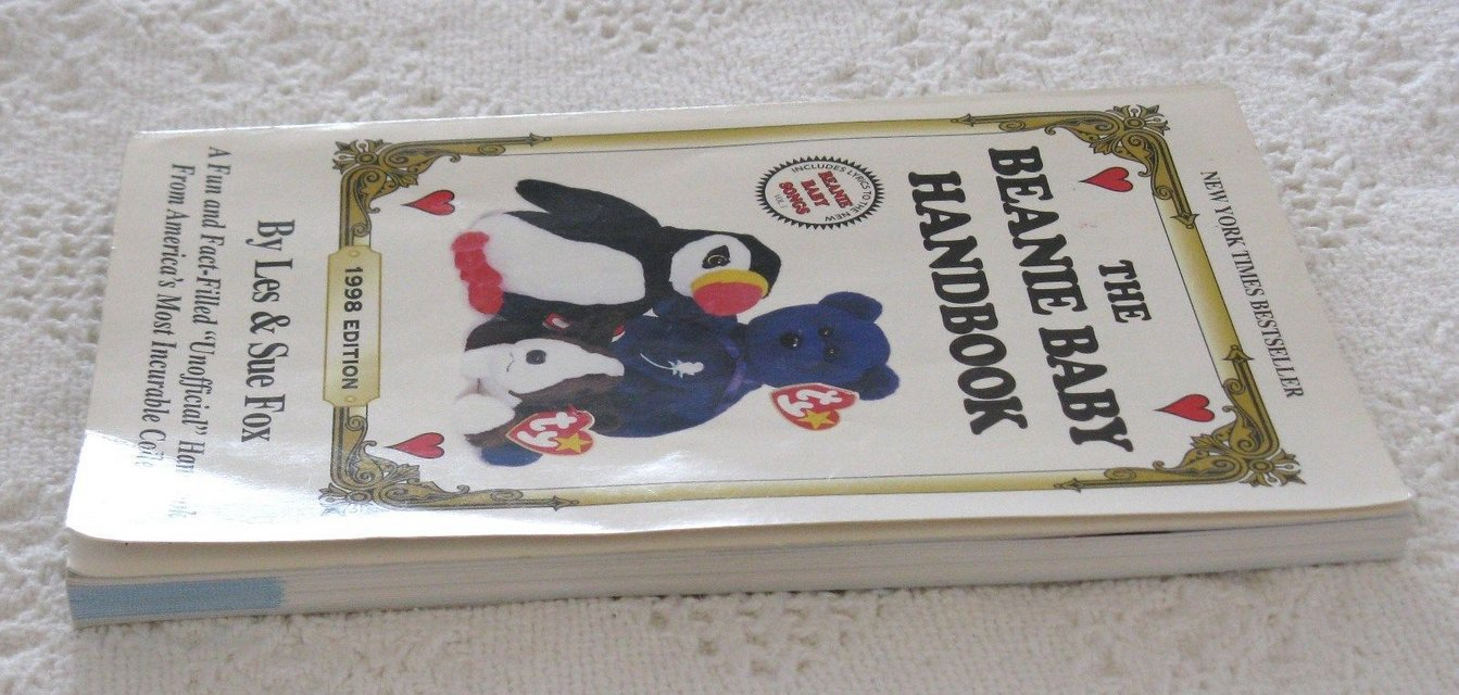 fc9ea7cc636 The Beanie Baby Handbook 1998 Edition by Les   Sue Fox Collectors Guide